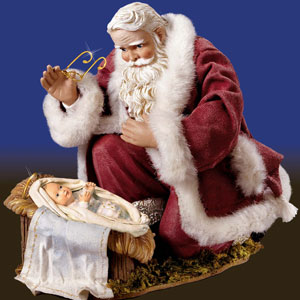 St. Nick and Jesus